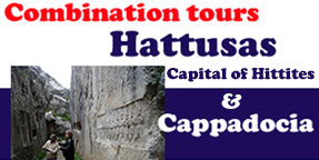 Travel Turkey Hattusas and Cappadocia combination tours